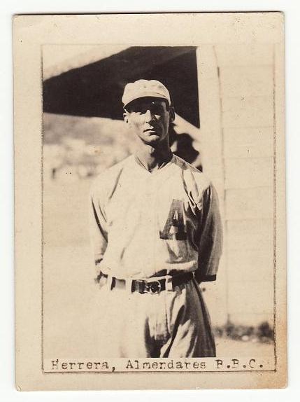Herrera--baseball card