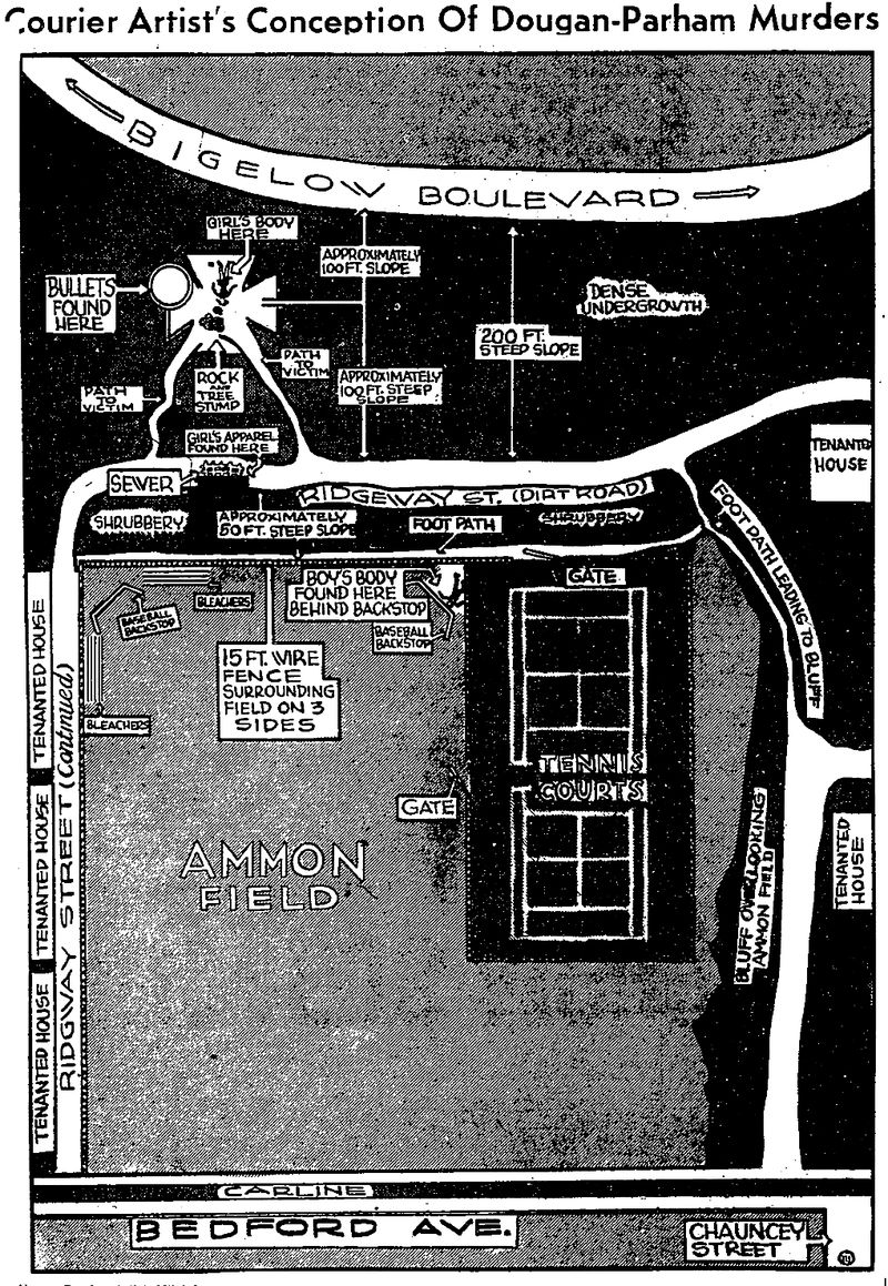 Map of Ammon Field_1938