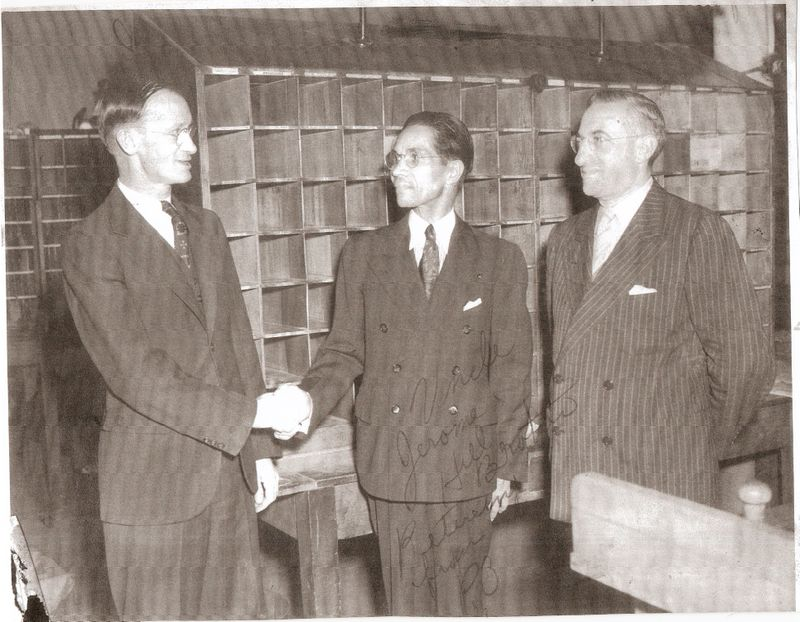 UncleJerome(Center)P.O.retirement