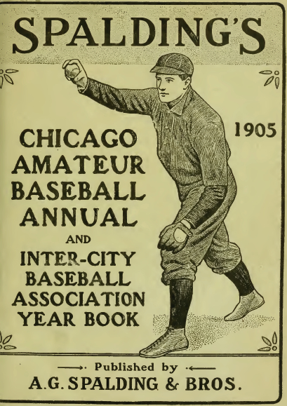 Spalding Chicago Annual 1905