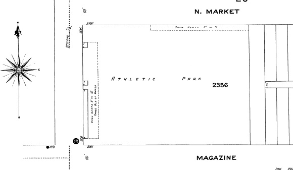 Kavanaugh's Athletic Park_1909