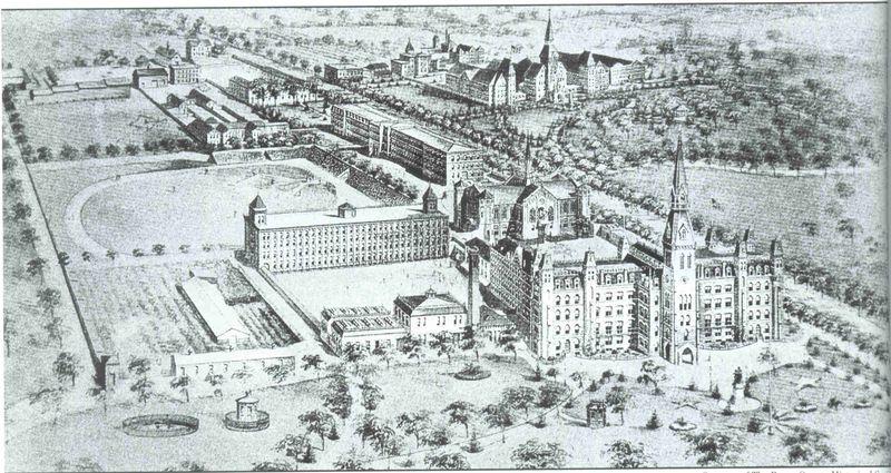 Catholic Protectory Oval_early 1900s