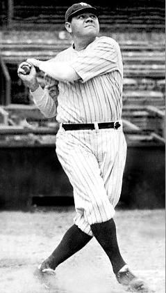 Babe Ruth Batting