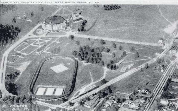 West Baden Hotel Baseball Park