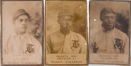 Agate Type The First African American Players On Baseball Cards