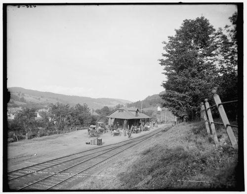 Railroad station_fleischmanns