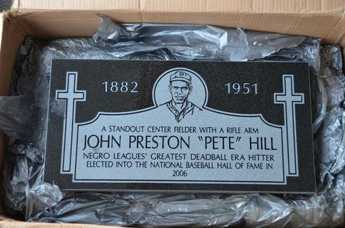 Pete Hill Marker