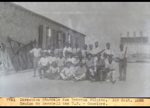Haitian_Travaux Publics Baseball Team_1928