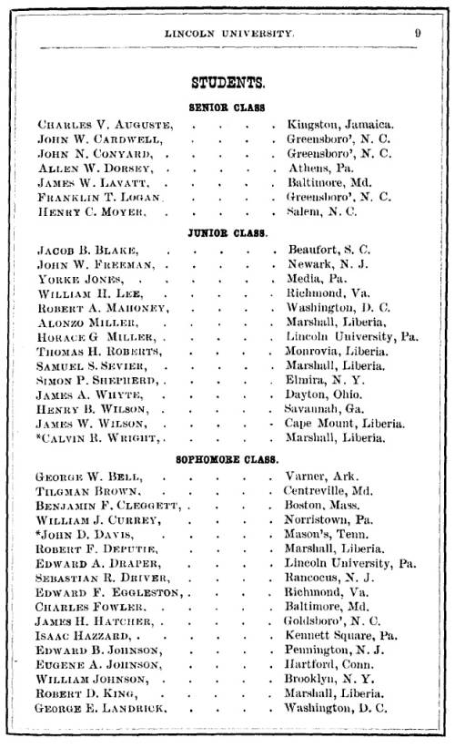 Lincoln University Catalogue_1880-81