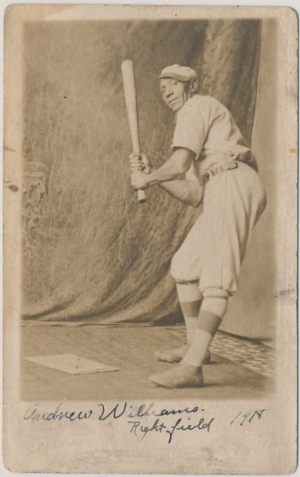Andrew Williams_Right Field_1918
