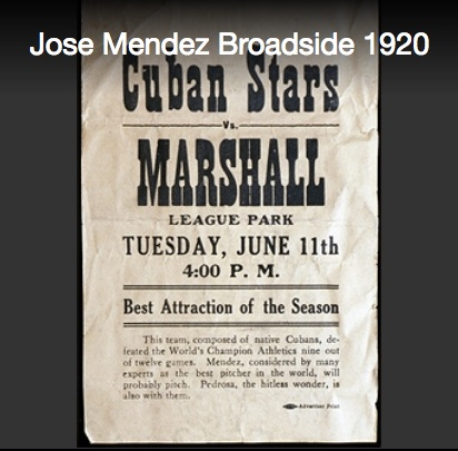 Cuban Stars Broadside