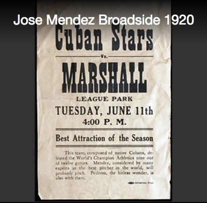 Cuban Stars Broadside