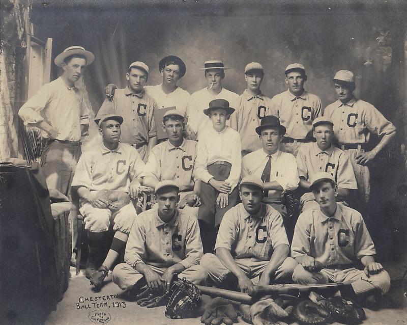 Chesterton Ball Team_1913