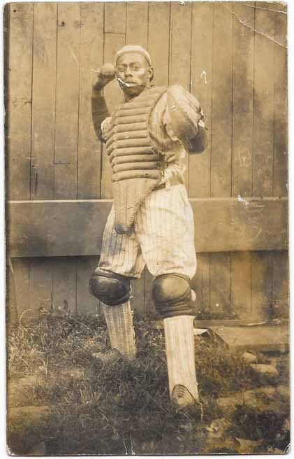 African american catcher