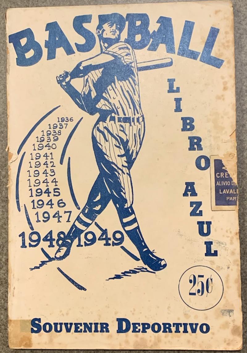 Libro Azul_1948-49_cover