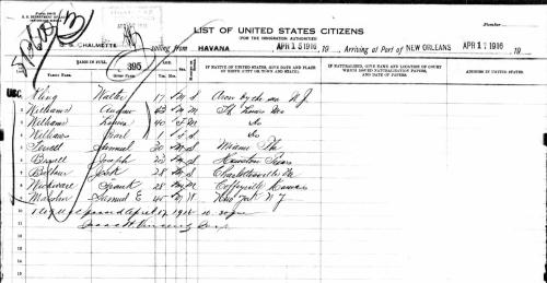 Passenger List_Chalmette_1916-4-17